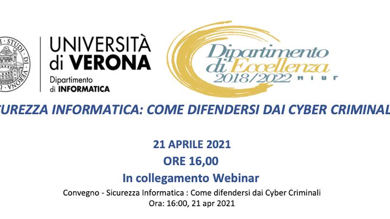 Sicurezza informatica: come difendersi dai cyber criminali